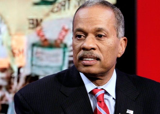 """Juan Williams, seen in a 2010 photo on """"Fox & Friends,"""" Wednesday announced he is leaving Fox News' """"The Five,"""" but will remain a political analyst for the cable news network."""