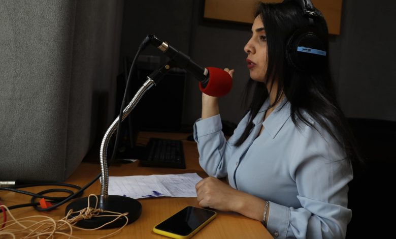 Gaza reporter says she was beaten for not wearing headscarf