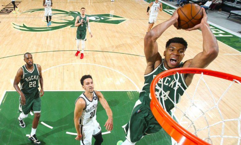 Giannis Antetokounmpo, Milwaukee Bucks come out on top as duel with Kevin Durant, Brooklyn Nets goes down to wire
