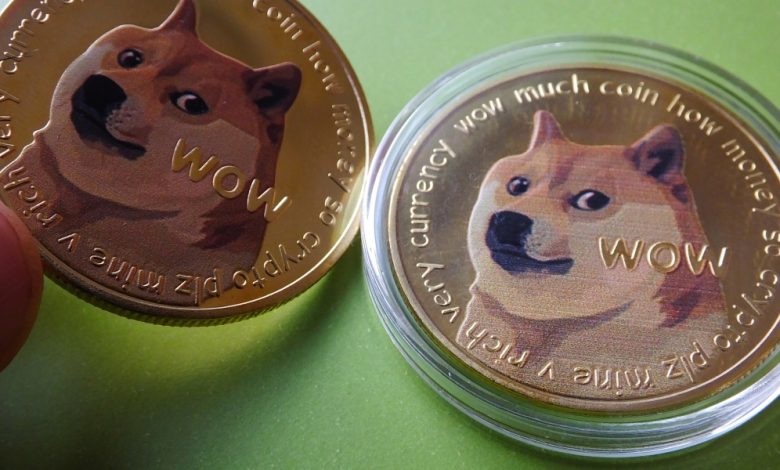 Global stocks rebound, but nothing beats the surge in Dogecoin