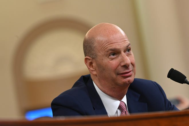 Gordon Sondland, former U.S. Ambassador to the European Union, was removed from his position on Friday, Feb. 7, 2020. He provided key testimony during the impeachment inquiry of US President Donald Trump.