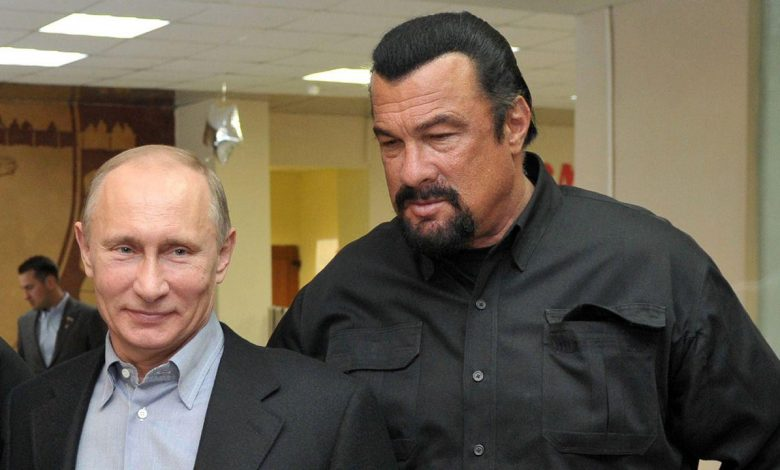 Hollywood actor Steven Seagal joins pro-Putin political party in Russia