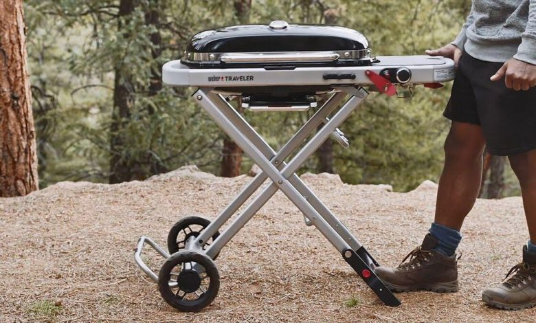 I tried the Weber Traveler, the new $325 collapsible, portable grill. Here's what happened
