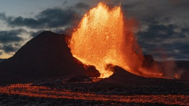 Icelandic volcanic eruption a 'wonder of nature'