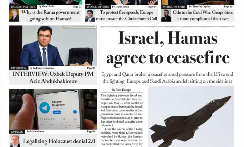 Issue 1387:Israel, Hamas agree to ceasefire (Digital Edition)