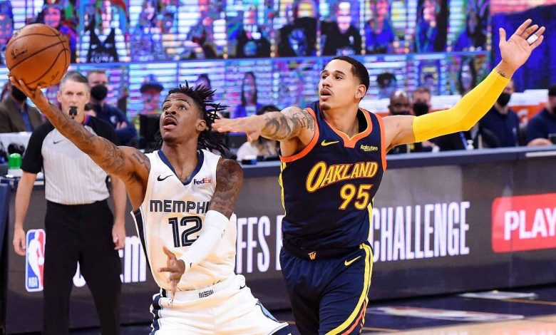 Ja Morant, Memphis Grizzlies into NBA playoffs after ousting Golden State Warriors in overtime