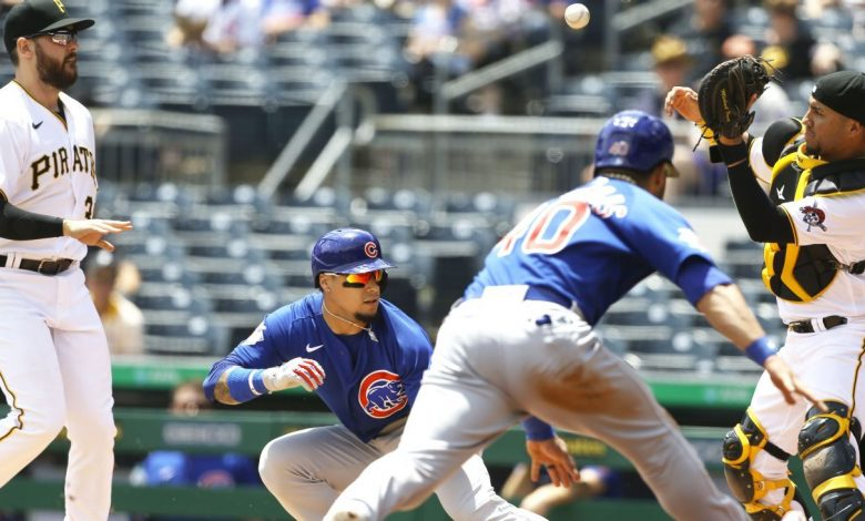 Javier Baez helped Chicago Cubs score on a play you've never seen before