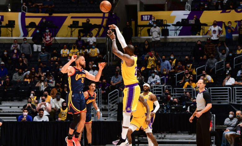 LeBron James delivers in clutch as Los Angeles Lakers take 7th seed in NBA playoffs