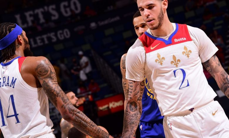 Lonzo Ball lives up to words with rebound performance in New Orleans Pelicans' win