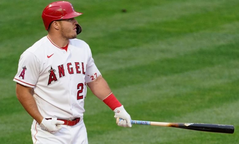 Los Angeles Angels' Mike Trout likely out 6-8 weeks with Grade 2 calf strain
