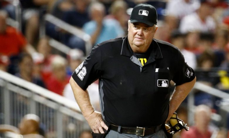 MLB umpire Joe West has never missed a call. Just ask him