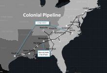 Colonial Pipeline Map