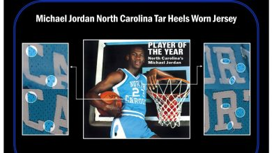 Michael Jordan game-worn North Carolina Tar Heels basketball jersey sells for $1.38 million