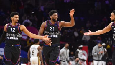 NBA playoff watch - Philadelphia 76ers close in on East's top seed; New Orleans Pelicans in trouble