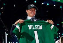 New York Jets go all offense with first four picks of NFL draft for first time since 1983