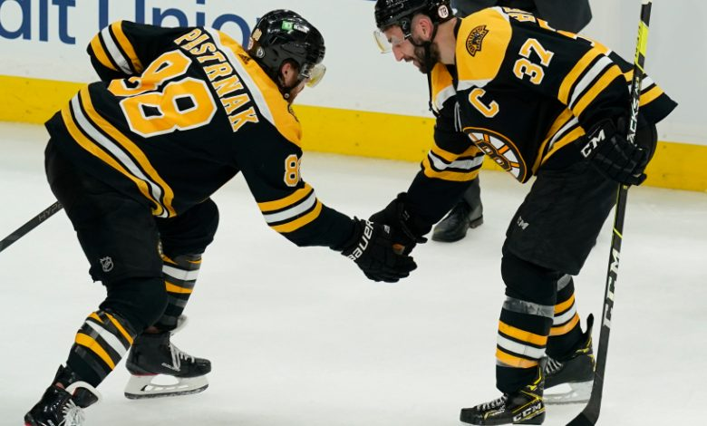 The Boston Bruins and David Pastrnak were unaffected by a six-day gap between games.
