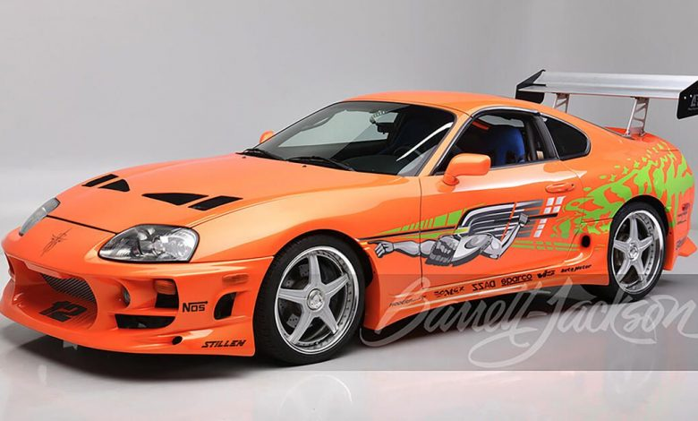 Paul Walker's Toyota Supra from The Fast and the Furious heads to auction