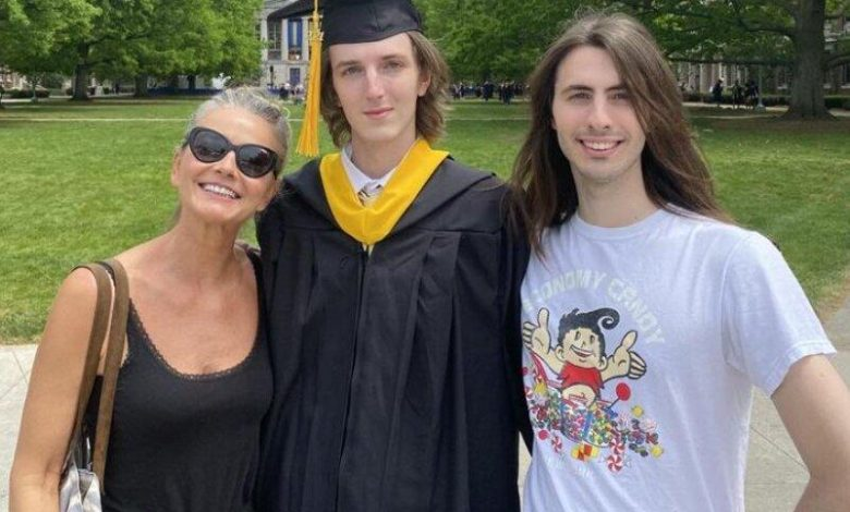 Paulina Porizkova Says She Knows Late Ric Ocasek Is 'Proud' of Their Son on His Graduation Day