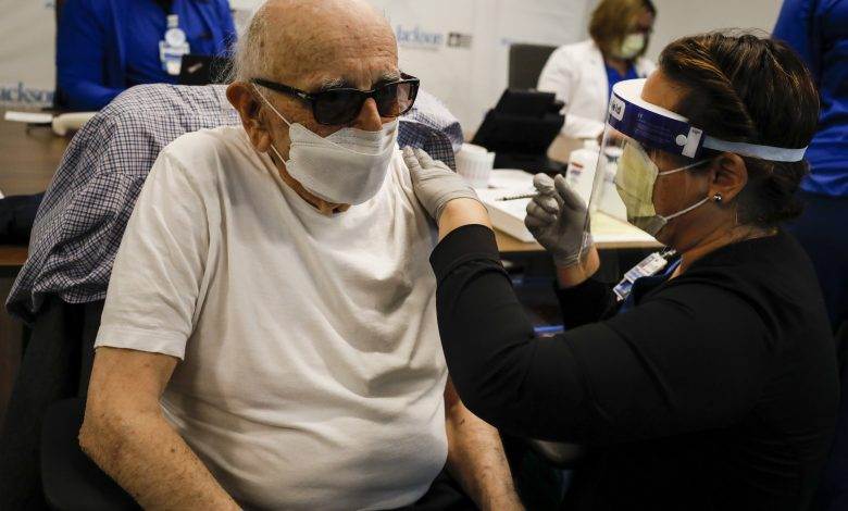 Pfizer expects elderly, those with health conditions to be first