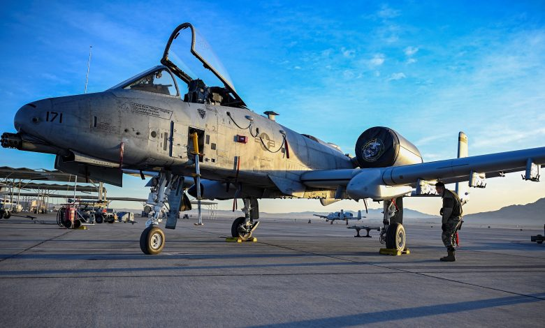 Pilot dead after military aircraft crashes