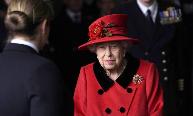 Queen Elizabeth Pays Tribute to Prince Philip with Sentimental Brooch During Visit to Navy Carrier