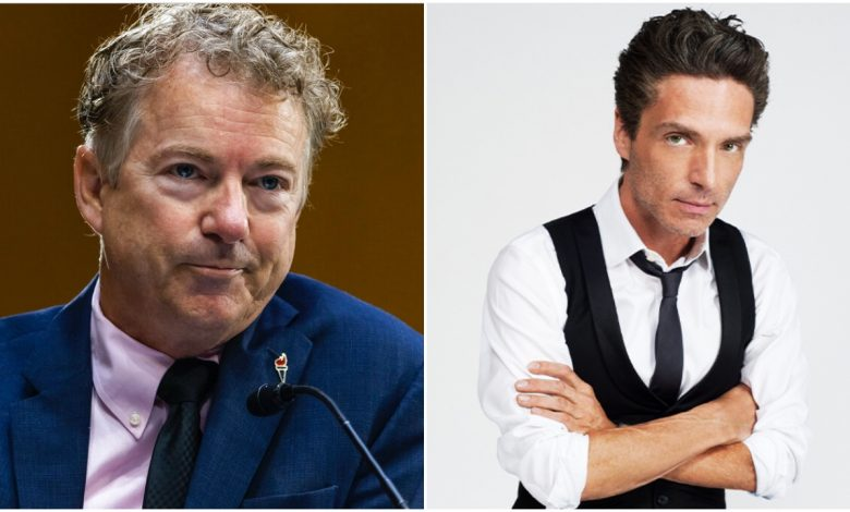 """Rand Paul, the COVID-skeptical Republican senator from Kentucky, took to Twitter to insinuate that the mysterious powder he got at his home was the result of musician Richard Marx """"encouraging violence"""" against him."""
