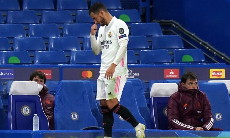 Real Madrid's Eden Hazard apologises for laughing with Chelsea players postmatch