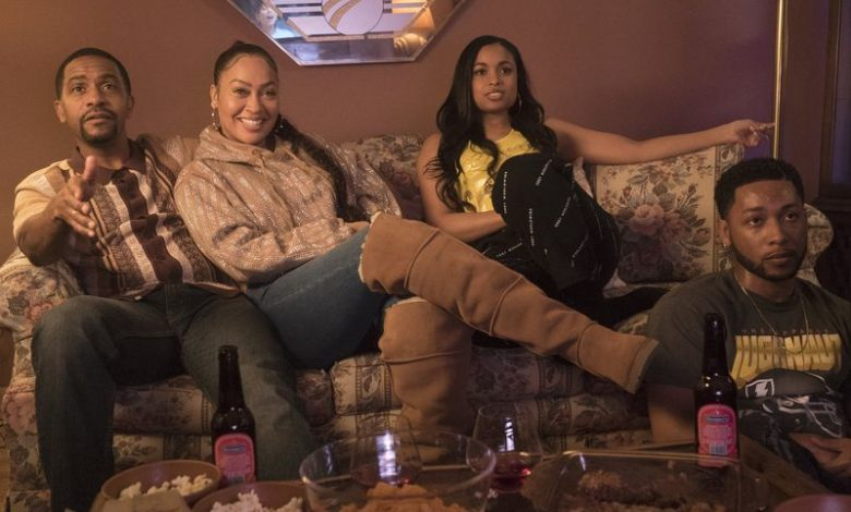 """""""The Chi"""" returns for a fourth season with an opening montage that shows Kevin going to prom, Kiesha giving birth, Emmett looking anxious, and Douda"""