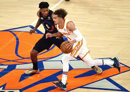 The New York Knicks needed a change in the second half after falling behind by 13 points.