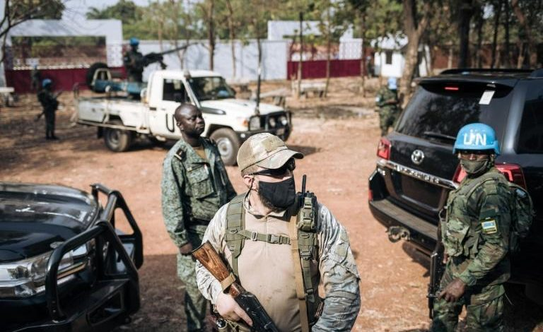 Russia insists CAfrica 'instructors' are unarmed