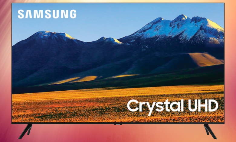 Samsung 86-inch Class 4K Crystal TU9000 Series Ultra HD LED Smart TV is on sale at Amazon