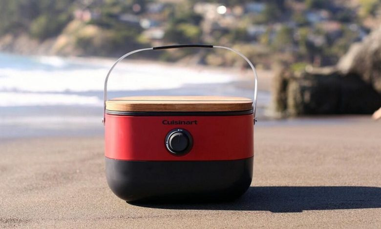 Save $60 on this Cuisinart portable grill and level up your weekend eats
