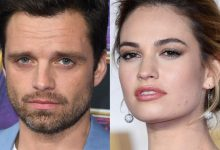 "Sebastian Stan's and Lily James' resemblance to Pamela Anderson and Tommy Lee is uncanny in Hulu's ""Pam and Tommy."""