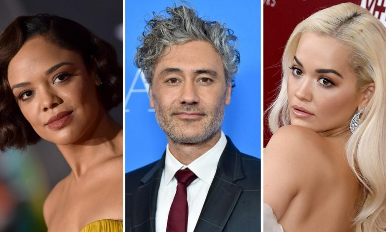 Taika Waititi and Rita Ora have been seen kissing - not just one other, but also Tessa Thompson, who plays Thor: Ragnarok