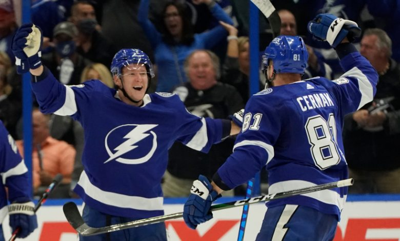 """The Tampa Bay Lightning said on Thursday that """"after securing permissions from local health and government agencies, as well as the NHL,"""" the team will host """"approximately 13,500 fans for the second round"""" of the playoffs."""