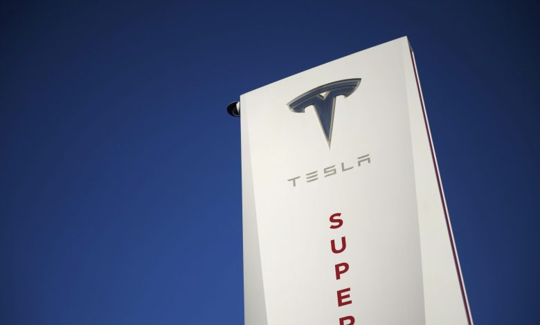Tesla Superchargers to be used at new UK electric vehicle hub