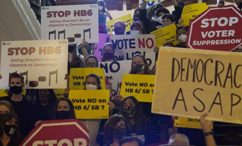 Texas GOP puts final touches on sweeping voting restrictions