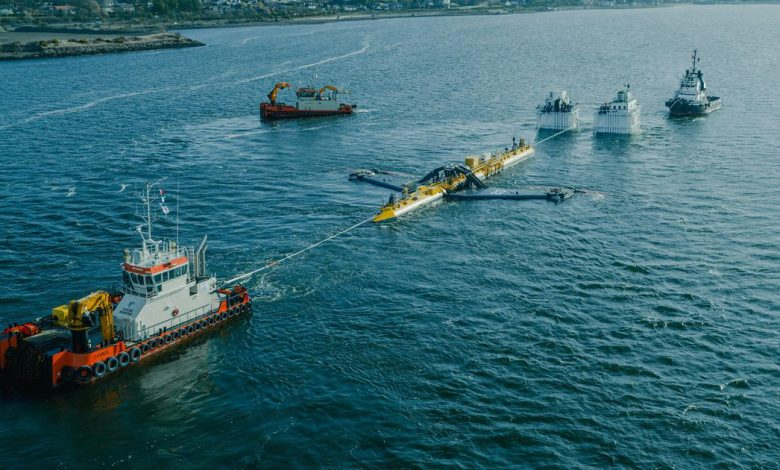 This is how you deploy an absolutely massive floating turbine