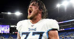 The Titans' offensive tackle was in attendance for the Predators' double-overtime triumph over the Hurricanes, and he provided the Nashville crowd with motivation and excitement.
