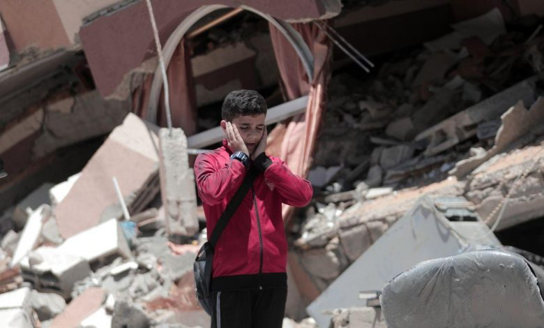 """UN secretary-general: """"If there is a hell on earth, it is the lives of children in Gaza"""""""