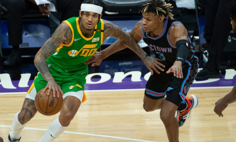 Jordan Clarkson of the Utah Jazz was named NBA Sixth Man of the Year on Monday. He is the only player this season to come off the bench and score 40 points in a game.
