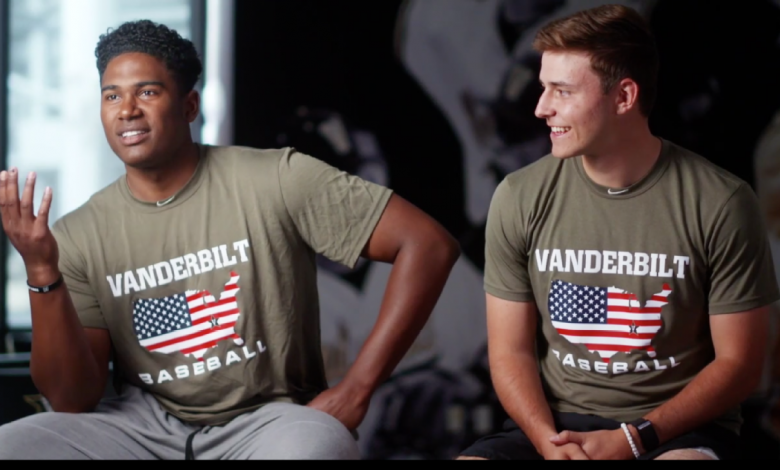 Vanderbilt pitchers Kumar Rocker and Jack Leiter look to lead Commodores to another College World Series title
