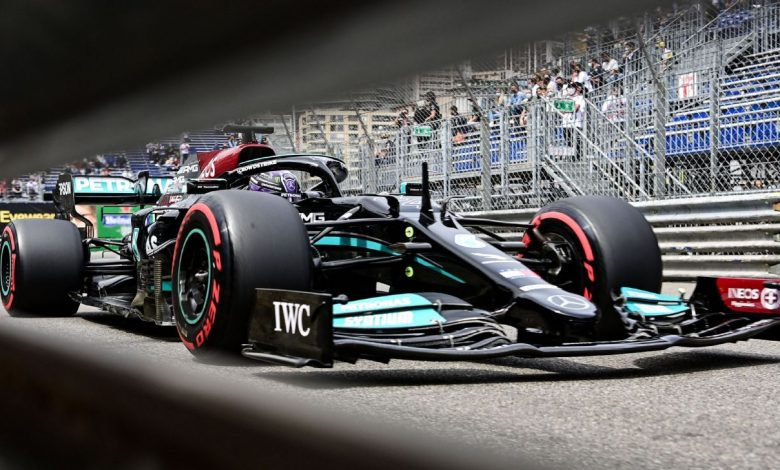 What went wrong for Hamilton in qualifying for the Monaco Grand Prix?