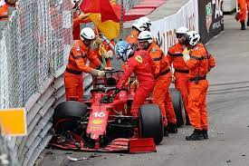 After Charles Leclerc's crashed Ferrari Formula 1 car had hardly stopped moving, conspiracy rumours about it being a premeditated accident began to circulate on social media.