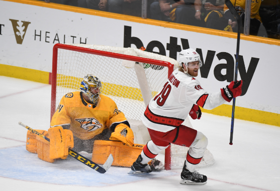 The Nashville Predators' season ended last night when Sebastian Aho of the Carolina Hurricanes tipped home the game winning goal in overtime, clinching the series for the Canes with a 4-3 win in Nashville.