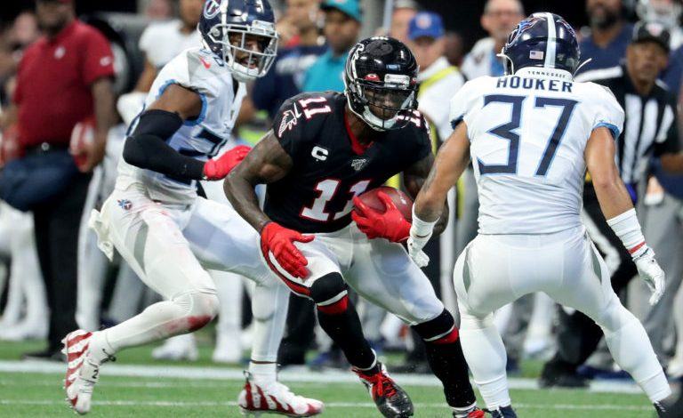 On the first day of May, the Tennessee Titans selected two wide receivers to address their most immediate need. Tennessee is now the betting favourite to land Julio Jones, according to FanDuel Sportsbook.
