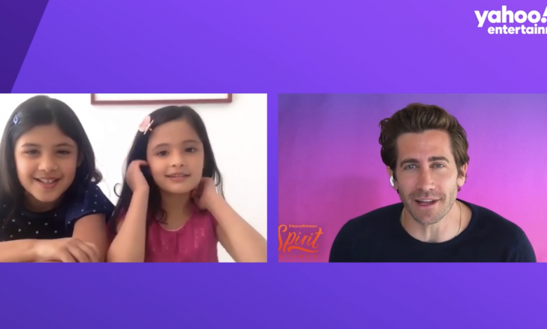 'Spirit Untamed' star Jake Gyllenhaal faces tough questions from children interviewers, tries to explain NFTs
