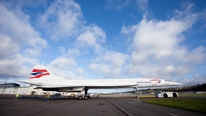 The Concorde allowed the world's jet set to fly across the Atlantic in about four hours, half the time of a normal flight.