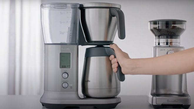 Best Father's Day Gift: A Breville coffee machine