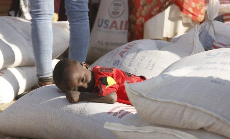 UN aid chief says there is famine